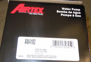 Airtex Water Pump AW4102 Ford / Mercury Truck V6