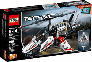 LEGO TECHNIC 42057 Ultralight Helicopter & 42058 Stunt Bike NEW!