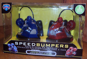 Remote Controlled Speed Bumpers Cars-Christmas Gift!
