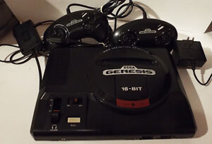 SEGA GENESIS CONSOLES AND GAMES