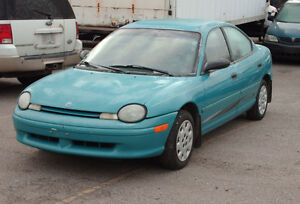 1997 Plymouth Neon Sedan