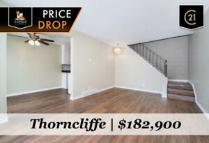 AMAZING VALUE! UPGRADED NW CALGARY 2 BED TOWNHOUSE FOR $182,900