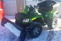 2009 Arctic Cat MudPro Automatic with Snow Plow and Extra's