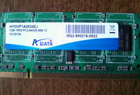 1GB 1Rx8 PC2-6400S-666-12 DDR2 Laptop RAM Module