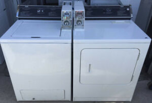 Inglis commercial coin laundry, 12 month warranty