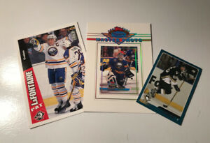Great Condition- Oversized Hockey Insert Cards (Set of 3)