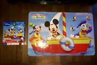 Huge Mickey Mouse clubhouse puzzle