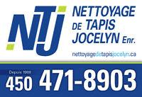NETTOYAGE DE TAPIS ET MEUBLES; Laval, rive nord et Montréal