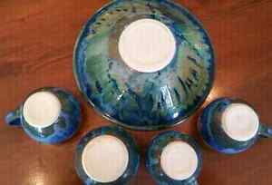 Beautiful Pottery set from a BC artisan