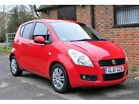 2012 SUZUKI SPLASH SZ4 AUTOMATIC IN BRIGHT RED. ONE OWNER FROM NEW.