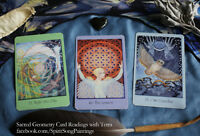 Sacred Geometry Oracle Card Readings - like Tarot but different!