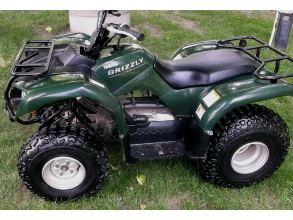 Yamaha grizzly 125 automatic for sale canada for Yamaha grizzly 80
