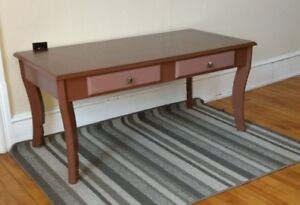 Cute brown coffee table (Priced reduced)