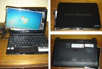 """Acer D270-1044 10"""" Netbook 1.60GHz Parts or Repair - Screen"""