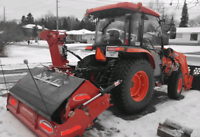 Snow Plowing & Compact Blower service with R-Con contracting