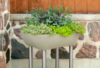 Container Garden Planter on Stand - Great for Decks and Patios