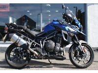 2016 Triumph Tiger 1200 EXPLORER XR in BLUE at Teasdale Motorcycles, Yorkshire