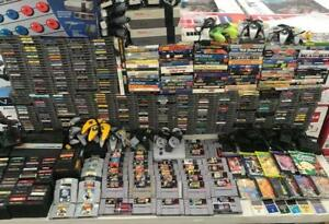NEED CASH! BUYING ALL RETRO VIDEO GAME COLLECTIONS NINTENDO PS1