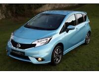2015 '65' NISSAN NOTE 1.2 ACENTA WITH STYLE PACK IN SONIC BLUE. ONLY 8900 MILES.