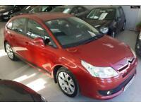 2005 CITROEN C4 VTR PLUS HDI Red Manual Diesel