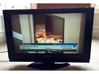 """Panasonic 32"""" LCD TV with Home Theatre Surround Sound DVD player"""