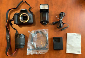 Canon EOS Rebel 750D/T6i,EF-S 18-55mm IS STM, with FLASH & 16G