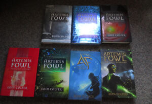 Artemis Fowl Original Covers + Graphic novel of the first book*