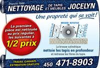 NETTOYAGE DE TAPIS ET MEUBLES; Terrebonne, Montréal et rive nord