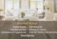 Krystal Klean Residential & Post Construction cleaning services