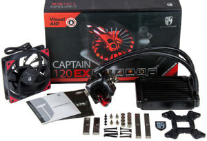 DeepCool Gamer Storm CPU Liquid Cooler AIO (CAPTAIN 120 EX)