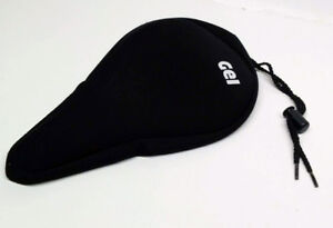 Gel Rubber Bicycle Seat, like NEW