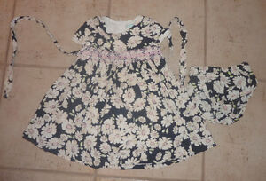 Nice TCP summer dress with bloomers, size 18 - 24m