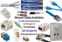 Networks - Cables - Wires - Managment Install -Upgrades Networks