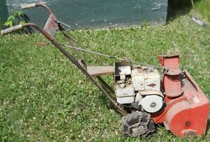 5 hp atlas 22 inch snow blower, 5 hp engine gear reduction 6:1