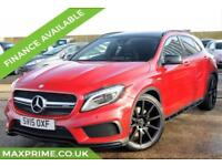 2015 (15) MERCEDES GLA 45 AMG 4MATIC 5D 360 BHP JUST SERVICED AT MERCEDES DEALER