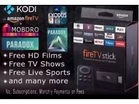 Brand New!! Amazon Fire Tv Stick fully loaded with thousands of Tv, Movie and music streams