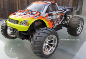 New RC Nitro Gas Truck RTR 4WD 1/10 Scale 2.4G