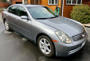 2004 Infiniti G35x AWD Luxury Edition - MINT CONDITION