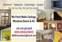 Painters - We Paint Walls Ceilings Doors Windows & Baseboards...