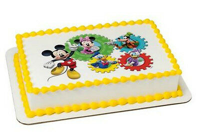 (Mickey Mouse Clubhouse image cake topper frosting sheet icing #8276)