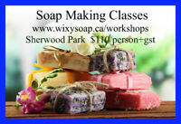 Soap Making Class in Sherwood Park, Alberta