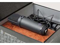 Neumann U87Ai Microphone + EA87 Shock Mount. Brand New. Black