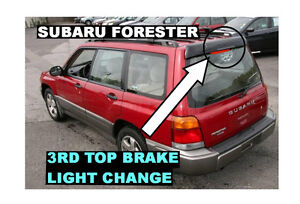 Learn how to change light bulb Subaru Forester 98 99 00 01 02