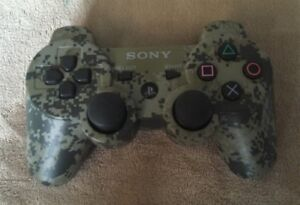 Playstation 3 PS3 Camo Controller (Used) Great Condition