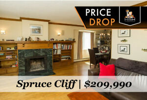 $25,000+ PRICE DROP! TOP FLOOR SPRUCE CLIFF CONDO WITH VIEWS