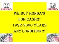 Wanted Honda Project any condition Civic logo