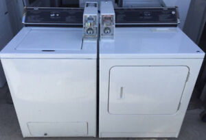 Inglis commercial coin laundry, 1 year warranty