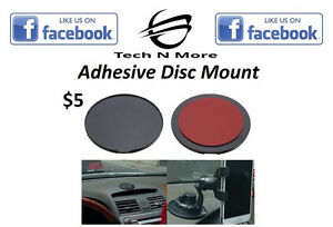 Adhesive Disc Mount