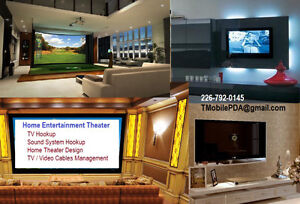 TV Wall Mounting & Hookup TV Projector Mounts   We Sell TV Wall