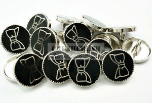 Free-Shipping-20pcs-Metal-Enamel-Bow-Round-Shank-Buttons-Sewing-Fabric-B49